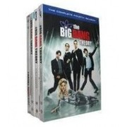The Big Bang Theory Seasons 1-4 DVD Boxset for Sale